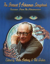 FORREST J ACKERMAN SCRAPBOOK Treasures from the Ackermansion HARDBACK Signed x2!