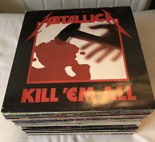 "Sammlung Vinyl / LP Heavy Metal ,Hard Rock , Rock, Punk  60 stk. 12"" LP"