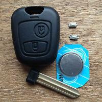 Citroen Xsara Picasso 2 Button Remote Key Fob Case Shell & Blade FULL Repair Kit