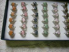 Markenlose Modeschmuck-Ringe aus Edelstein für Damen