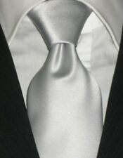 Cravatta grigia Made in Italy  cravate gris corbata tie grey