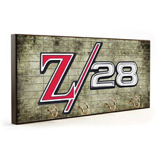 1970 Chevrolet Camaro Z28 Emblem Muscle Car Design Wood Key Hanger