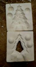 Ceramic mold, Christmas tree Box top