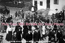 CH 107 - Edward Memorial Procession, Frodsham, Cheshire 1910 - 6x4 Photo