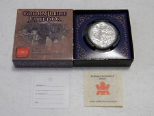 Canada 2002 Golden Jubilee Proof Silver Dollar & Case - With COA