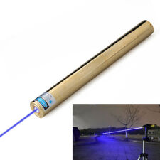 2 Watt High Power Blue Laser Pointer 450nm Adjustable Focus Burning Light X5B-A