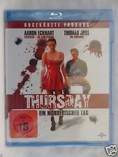 Thursday UNCUT [1998] (Blu-ray Region-Free)~~~~Thomas Jane, Aaron Eckhart~~~~NEW