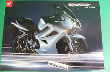 HONDA VFR 800 V4 VTEC MOTO MOTORCYCLE ADVERTISING PUBBLICITA BROCHURE DEPLIANT