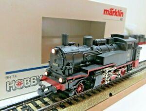 Märklin H0 3095 Steam Locomotive Tender Br 74 701 DB First Class Tested Boxed