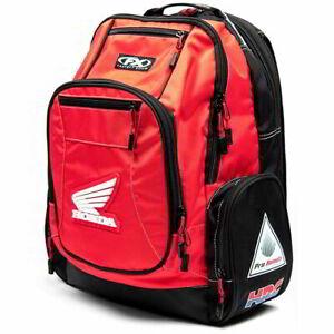 Factory Effex Honda Premium Unisex Adult Motorcycle Riders Storage Bags - Red