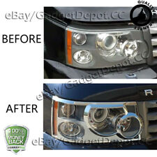 For 2006 2007 2008 2009 Land Rover Range Rover Sport Chrome Headlight Covers