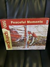 Peaceful Moments 500 Piece Jigsaw Puzzle