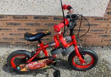 Disney Cars 12 inch bike with stabilisers