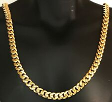 """9K SOLID GOLD MIAMI CUBAN CHAIN, 11.06 GRAMS (5.5 MM) 16"""" LENGTH....NEW!!!"""