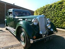Rare 1947 Rover 16 P2 Sports Saloon Classic Car Enthusiast Barn Restoration