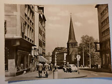 alte Foto Ansichtskarte Essen Kettwiger Straße um  1957 VW Käfer