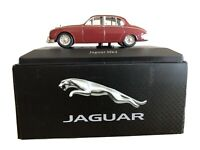 Atlas Editions Jaguar MK2 Saloon - Maroon Scale 1:43