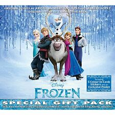 FROZEN SPECIAL GIFT PACK 3CD ALBUM SET DISNEY SOUNDTRACK  (2014)