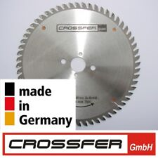 Lame de Scie Hm 250mmx30mm Z60 Haute Qualité Fabriqué en Allemagne Circulaire