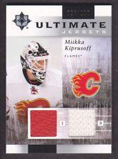 2011-12 Ultimate Collection Jersey UJ-MK Miikka Kiprusoff 096/100 Calgary Flames