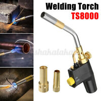 TS8000 Style High Temperature Brass Mapp Gas Torch Propane Welding Plumbing
