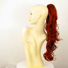 Hairpiece ponytail long wavy copper intense 25.59 ref 6/350 peruk