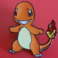Charmander Pin Pokemon Enamel Retro Metal Brooch Badge Lapel
