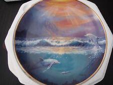 collectors plate - Dawn of the Dolphin