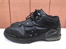 EUC Nike Air Force OPERATE MAX 1 BLACK CHROME SILVER GREY 310429-001 US 12