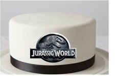 Jurassic World Logo Edible Image REAL Icing Cake Topper