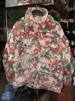 Veste Armée Suisse camouflage Alpenflage t. M (48) militaire Swiss Army jacket