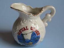 Porcelain Creamer Pourer w Gold Trim ~ ROYAL GORGE Bridge, Rail Route ~ COLORADO