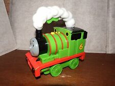 TALKING Thomas the Tank Engine Percy torch figure toy light up train green
