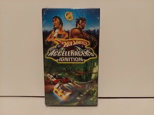 hot wheels acceleracers ignition vhs factory sealed excellent condition