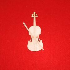 Geige aus Holz, 12 cm 1Stück Musikinstrument Geschenk Geldgeschenk Musiker