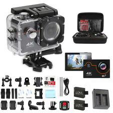 New 4K 16MP HD Sports Action Camera Wifi Waterproof Helmet Cam V2 for Go-pro bag