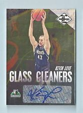 KEVIN LOVE 2012/13 LIMITED GLASS CLEANERS AUTOGRAPH AUTO /49
