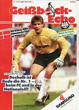 BL 88/89 1. FC Köln - Eintracht Frankfurt