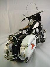HARLEY ELECTRA GLIDE SHOVELHEAD METAL MOTORCYCLE COLLECTIBLE