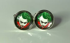 The Joker , Batmans Arch Enemy, Glass domed cufflinks