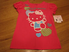 Girls Hello Kitty Pink t shirt 6X youth HK52612 NWT ^^