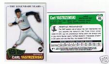 CARL YASTRZEMSKI 10 CARD LOT 2005 TOPPS PRISTINE # 41