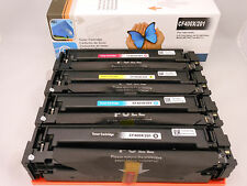 4PK CF400X CF401X CF402X CF403X Toner Cartridge for HP JaserJet Pro M277n M252dw