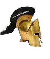 Armor Roman Corinthian Medieval Helmet King Leonidas Greek Spartan 300 helmet