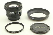 Exc+4 + Hood] Nikon AF Nikkor 20mm f/2.8 Ultra Wide Angle Lens Filter From Japan
