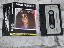 DONNA SUMMER - Self Titled (UK)   / Cassette Tape Album/3104