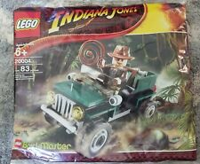 Lego 20004 Indiana Jones Brickmaster SEALED PROMO BAG RARE 2008 Poly Jeep NEW