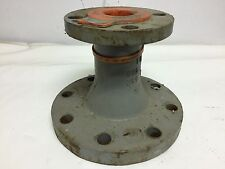 "Flanged Reducer, Concentric 4"" x 2"", DI, Resistoflex PP Teflon Lined, 150#"