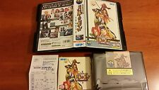 NEO GEO AES LAST BLADE 2 SNK NEOGEO + CARD VERY,VERY TOP CONDITION..