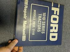 New ListingFord New Holland 1910 2110 Tractor Factory Shop Service Repair Manual Book